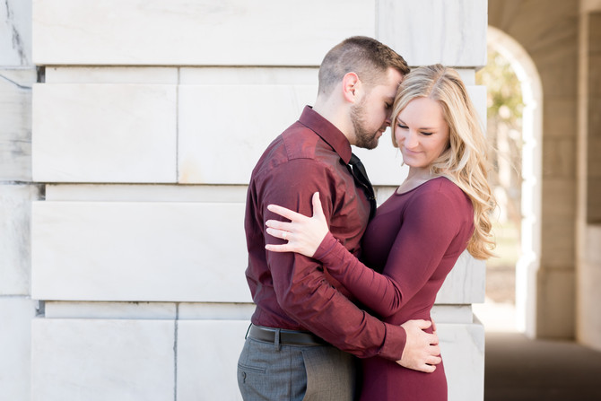 Winter Engagement {Liz + Joe} Somerville NJ