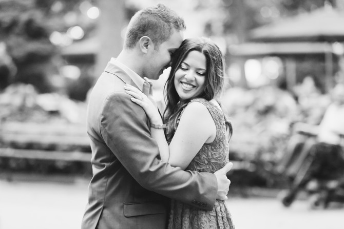 NYC Engagement {Shira + Mike}