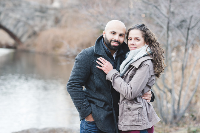 Crystal + Alan {Engaged}! Central Park, NY