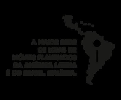 maior rede de lojas da América Latina