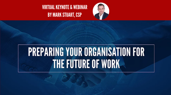 Virtual Keynote Speaker Webinar Future o