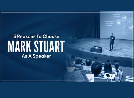 5 Reasons to Choose Me As Your Keynote Speaker