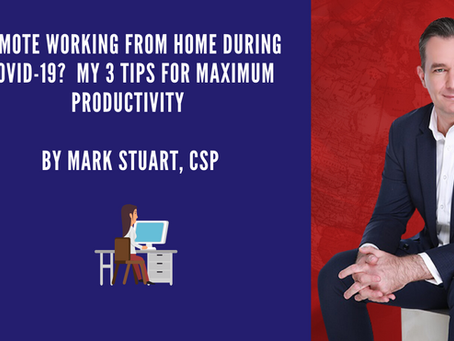 Remote Working During Covid-19: My 3 Tips for Maximum Productivity