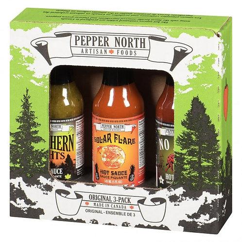 Pepper North Original 3-Pack Gift Set