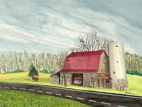 Dog Run Barn in Door County