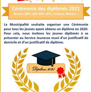 Cérémonie des diplômés 2021