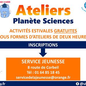 Ateliers Planète Sciences