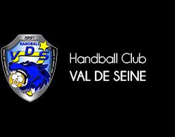 Logo Handball club Val de Seine.png