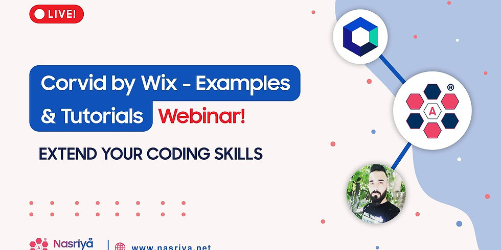 LIVE: Corvid by Wix - Examples & Tutorials Webinar