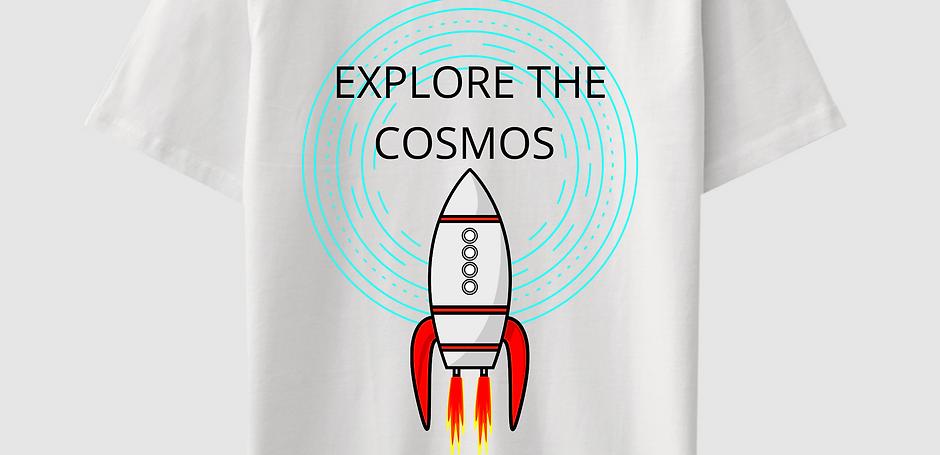 Explore The Cosmos Cotton T Shirt