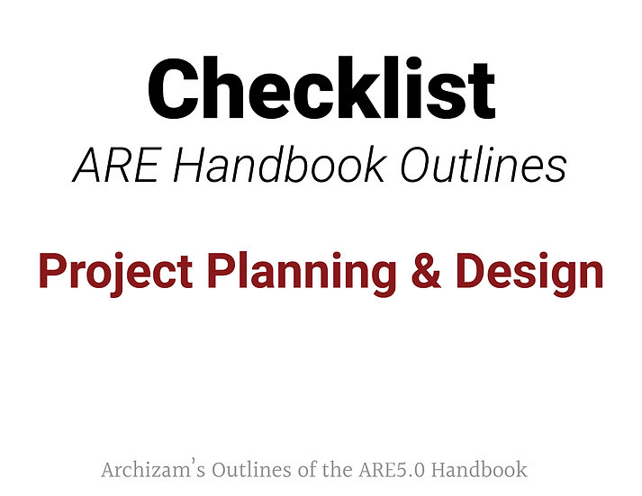 Project Planning and Design Outline