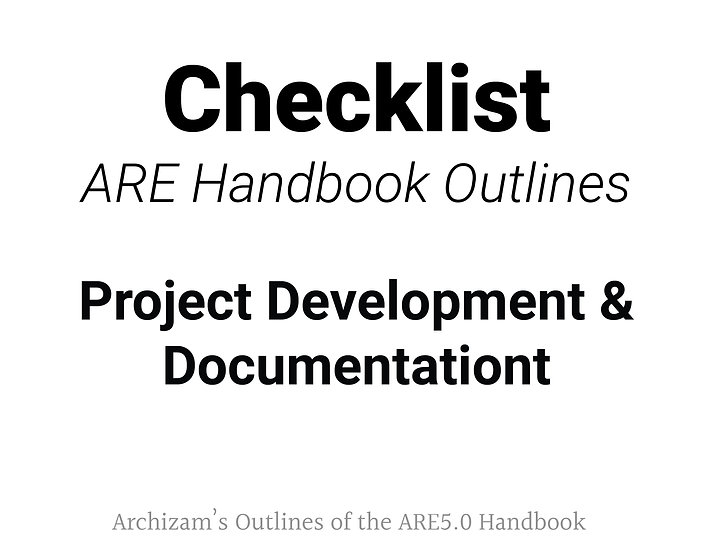 Project Development and Documentation Outline