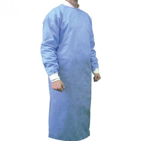 Bata quirúrgica reforzada estéril