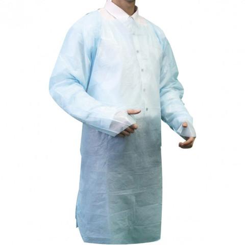 Pechera plástica con manga y puño