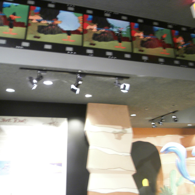 OVERHEAD DISPLAY CHUCK JONES EXPERIENCE