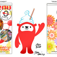 zero bear branding concepts