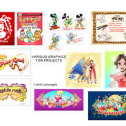 various graphics