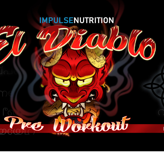 diablo red label design