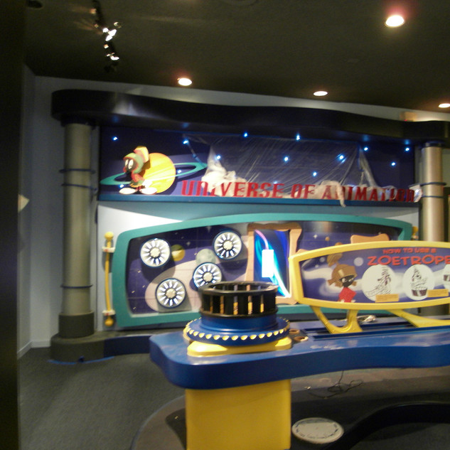 CHUCK JONES EXPERIENCE INTERACTIVE SPACE