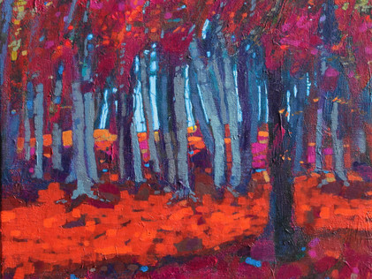 """""""Autumn Leaves, Cluny Hill"""""""