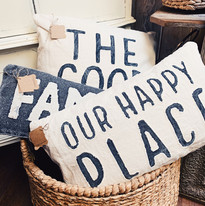 Our Happy Place Pillows