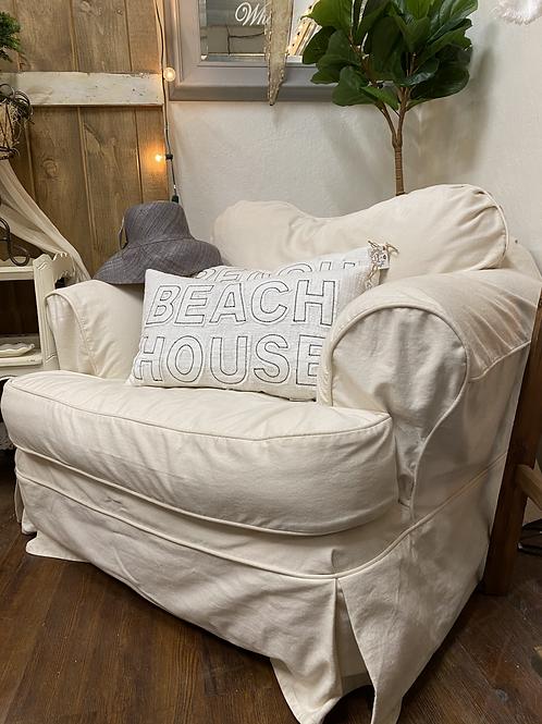 Oversized Down Cushion Chair