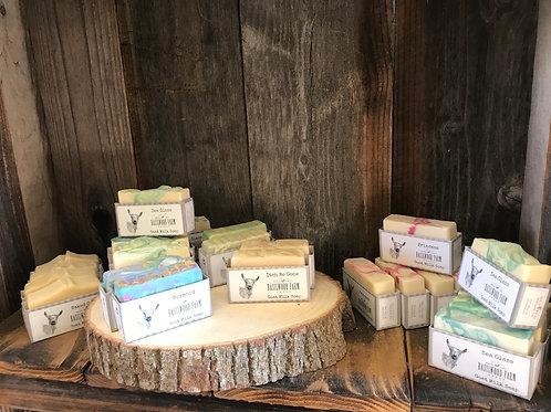 Basilwood Farms Goat Milk Soap