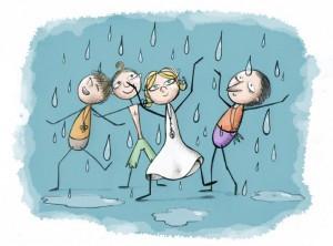 La 'danza della pioggia'!