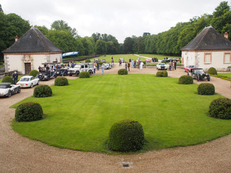 Rally Day 1: Driving from Fontainebleau to Gerardmere