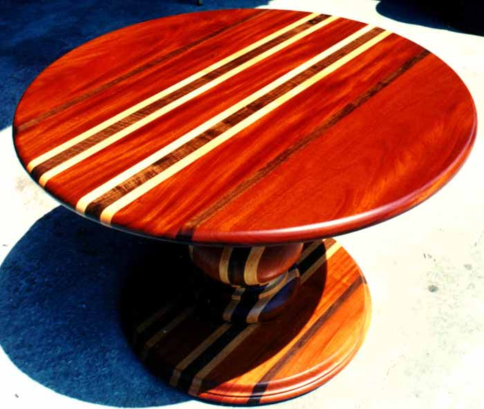 Modern Pedestal Table