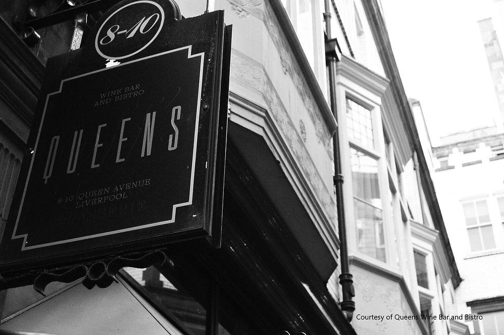 Queens wine bar and bistro Liverpool