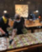 Chefs at The Lark prepare meals for seni