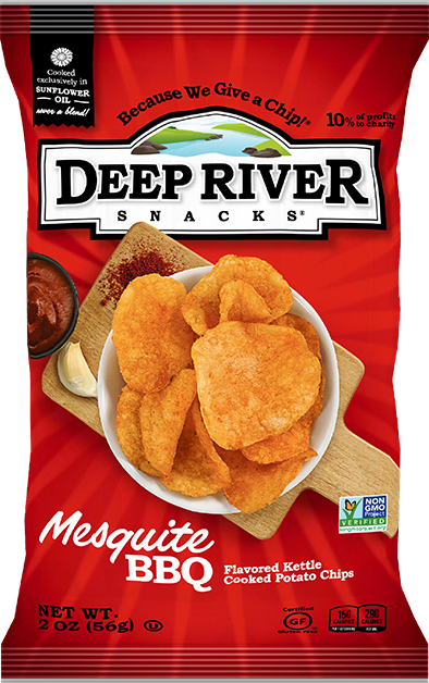 Deep River Potato Chips (Family Size)