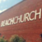 Beach Church Sign