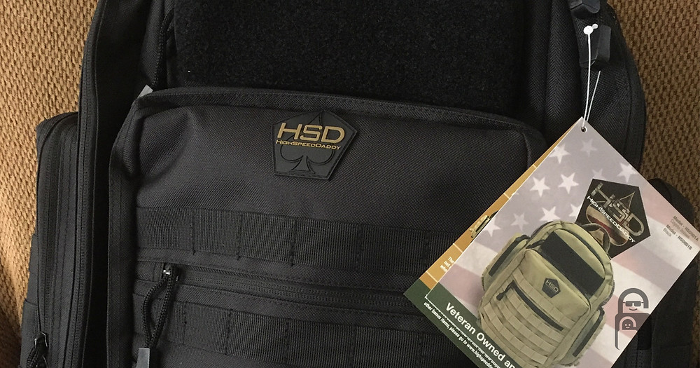 High Speed Daddy Tactical Diaper Bag | The Secure Dad