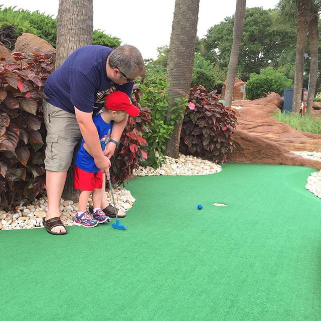 Putt-Putt | The Secure Dad | Secure Dad | Miniature Golf