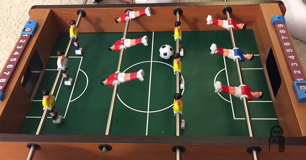 Foosball Table | The Secure Dad | Foosball Game | Table Top Foosball | Secure Dad
