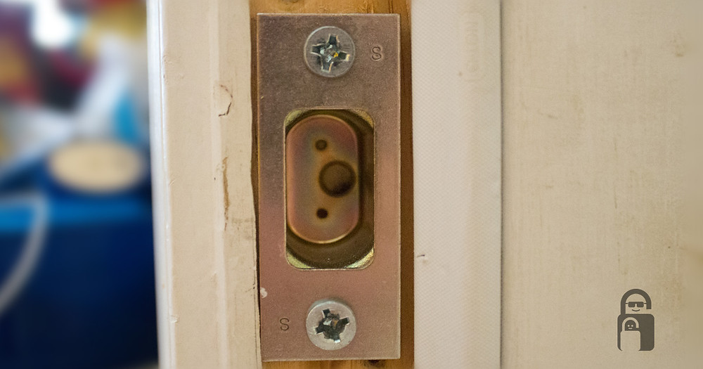 Door Strike Plate | The Secure Dad | Secure Dad Blog | Secure Dad