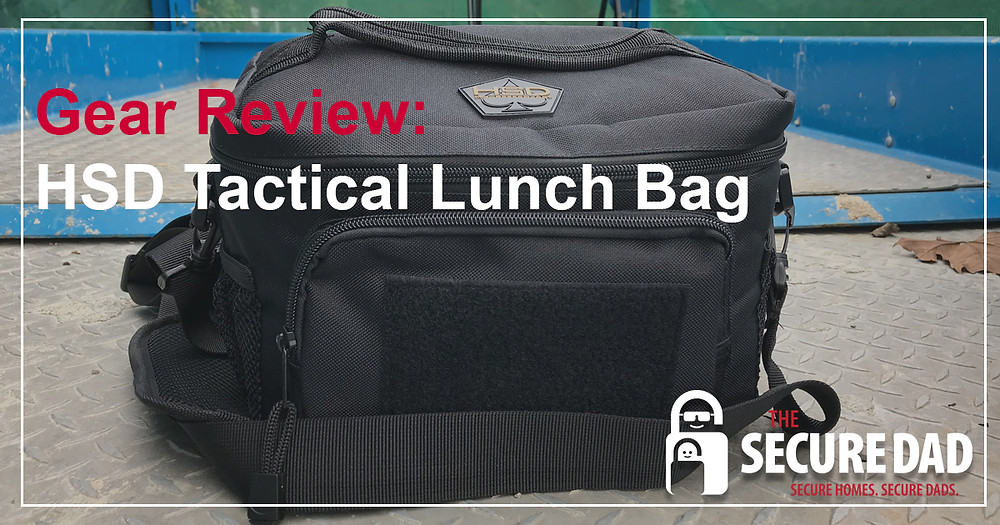 High Speed Daddy Tactical Lunch Bag | The Secure Dad | Secure Dad