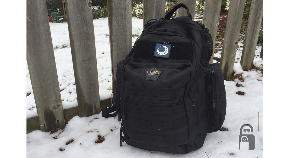 Hight Speed Daddy Tactical Diaper Bag in Snow | The Secure Dad