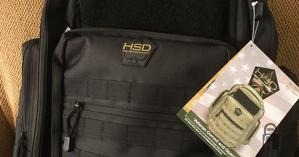 High Speed Daddy Tactical Diaper Bag | The Secure Dad | Secure Dad