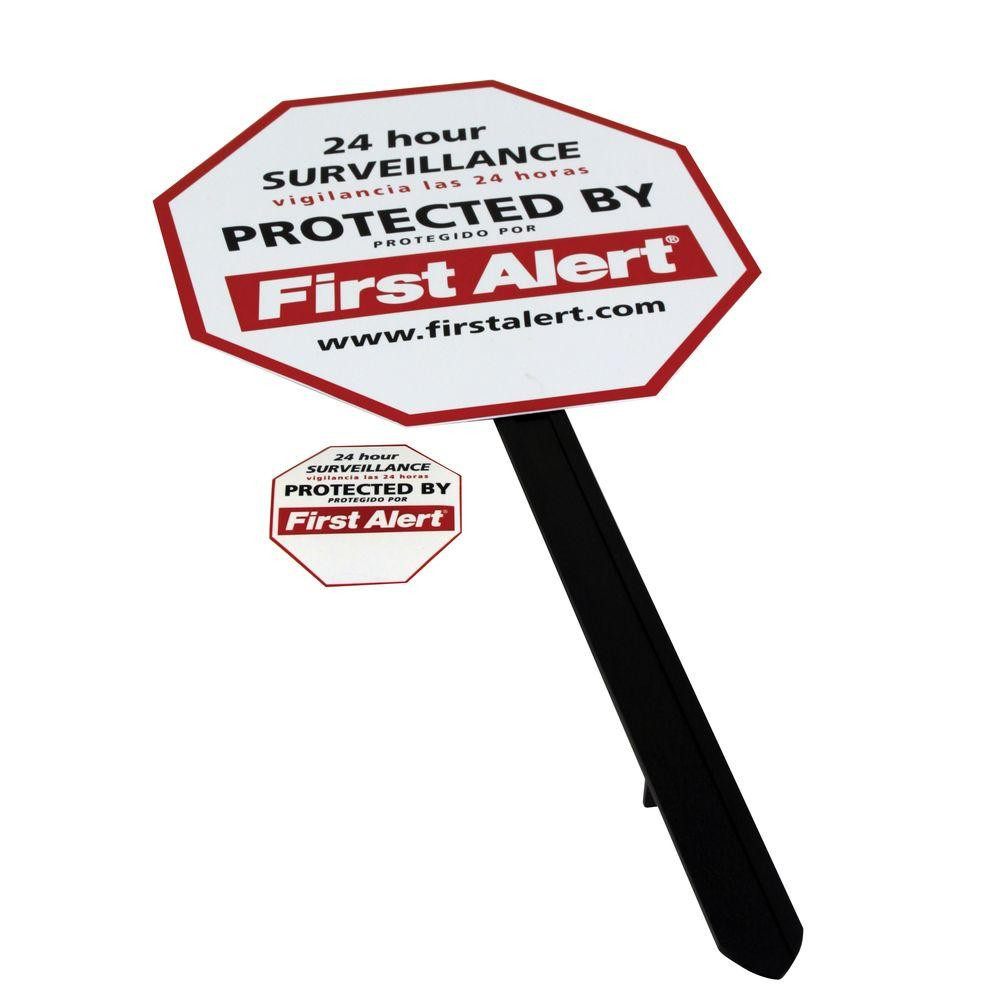 Security Sign | 5 Yard Security Tips | The Secure Dad | Secure Dad