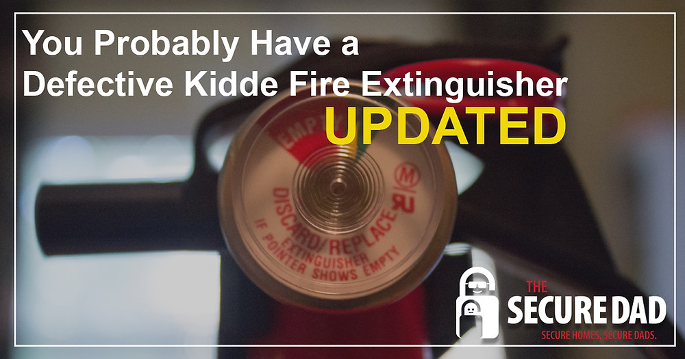 Kiddie Fire Extinguisher Recall | The Secure Dad