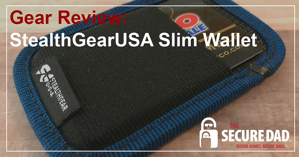 StealthGear USA Slim Wallet | The Secure Dad