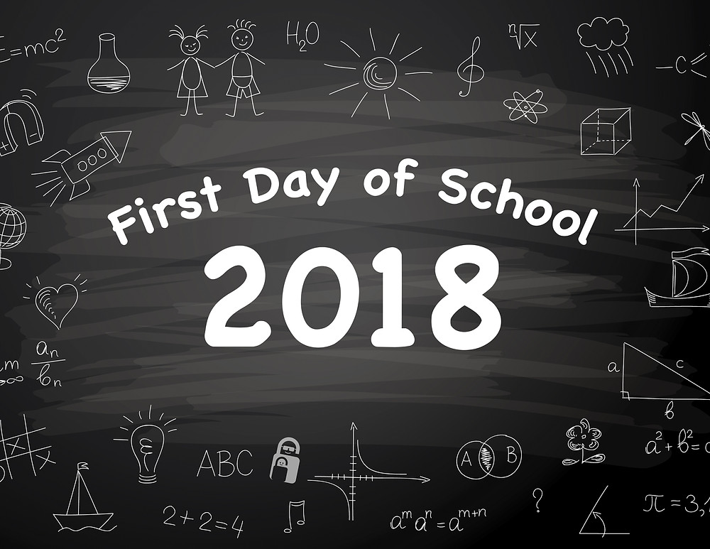 First Day of School Sign 2018 | The Secure Dad