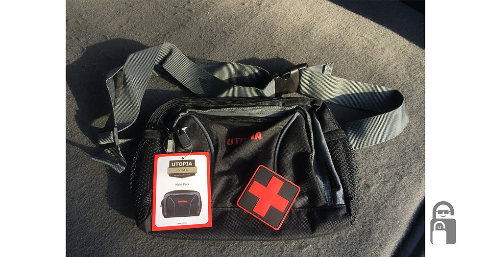 Headrest Car First Aid Kit   The Secure Dad