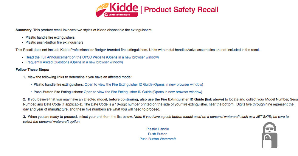 Kiddie Recall | The Secure Dad