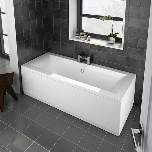 Trim Double Ended Straight Bath