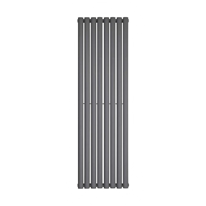 Nika 1800 x 560mm Double Anthracite Vertical Radiator