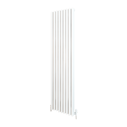 Valerio 1800 x 470mm White Vertical Designer Radiator